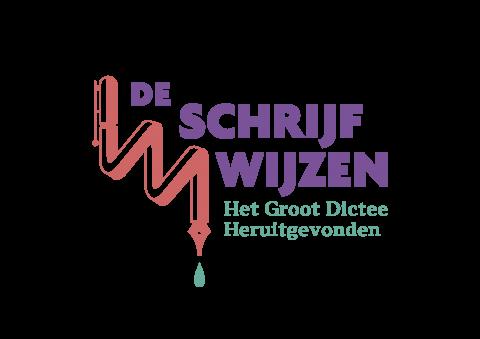 Logo van dicteewedstrijd De Schrijfwijzen